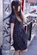 DISTURBIA CLOTHING Kosmos Collared Dress