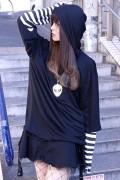 DISTURBIA CLOTHING Hooded Long Sleeve