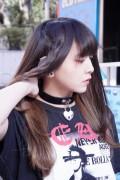 KILL STAR CLOTHING (キルスター・クロージング) Emily Heart-Locket Choker [B]