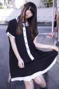 DISTURBIA CLOTHING Hettie Collared Dress