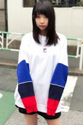 FILA FM9568 CREW NECK SHIRT WHITE