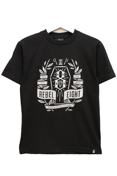 REBEL8 DEAD ASLEEP TEE BLACK