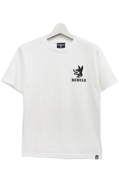 REBEL8 PROPER FUCKED WHITE TEE