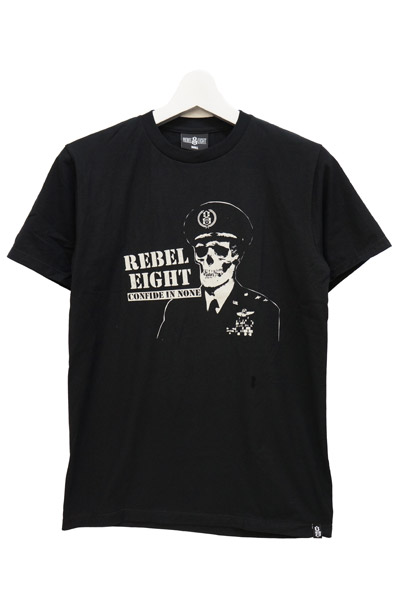 REBEL8 CONFIDE IN NONE SOFT TEE BLACK
