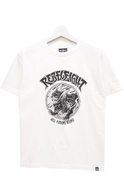 REBEL8 HELL BOUND WHITE TEE