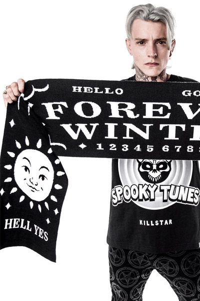KILL STAR CLOTHING Forever Winter Scarf [B]