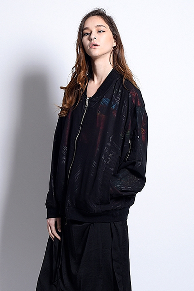 PARADOX - CLEAR GRAPHIC BLOUSON (TORRID ZONE)