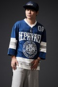 Zephyren(ゼファレン)HOCKEY SHIRT L/S BLUE