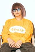 【予約商品】easy as pie L/S T-Shirt Orange