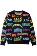 RIPNDIP Rock N Nerm Sweater (Black)