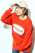 easy as pie L/S T-Shirt Red