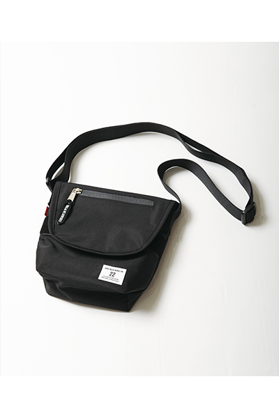 VIRGO VGW AWAY MINIBAG BLACK