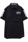 Zephyren(ゼファレン)EMBLEM SHIRT S/S BLACK / Cut the world