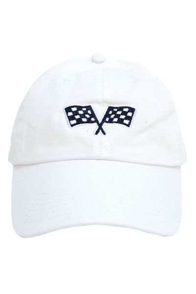 STAY SICK CLOTHING Checkered Flag White