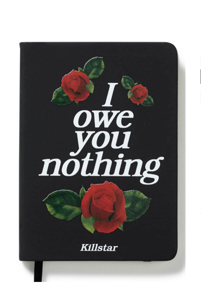 KILL STAR CLOTHING NOTHING Journal [B]