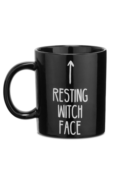 KILL STAR CLOTHING RESTING WITCH FACE Mug [B]