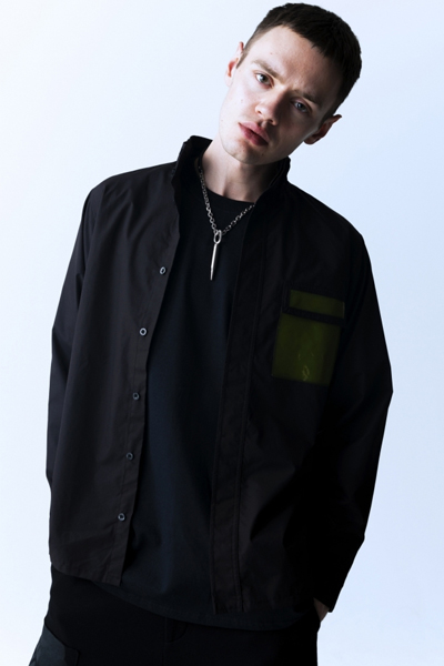PARADOX PX15-SH03 HIGHNECK SHIRTS BLACK