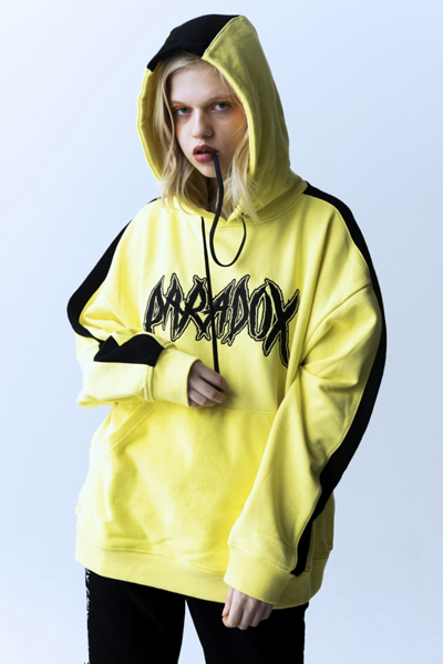 PARADOX PX15-PK02 INSIDE OUT PULLPARKA NEON YELLOW