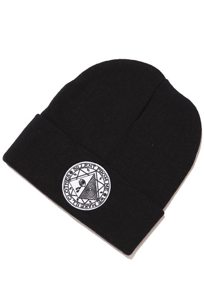 SILLENT FROM ME D&C-Beanie- BLK/WHT
