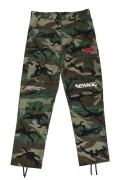 "LILWHITE(dot) LW-19SS-B02 ""TRANSFORM""BACK-ZIP CARGO PANTS WOOD-CAMO"