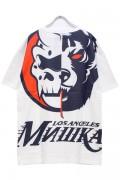 MISHKA MSS190013 TEE WHITE