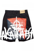 Zephyren(ゼファレン)BANDANA SHORTS BLACK