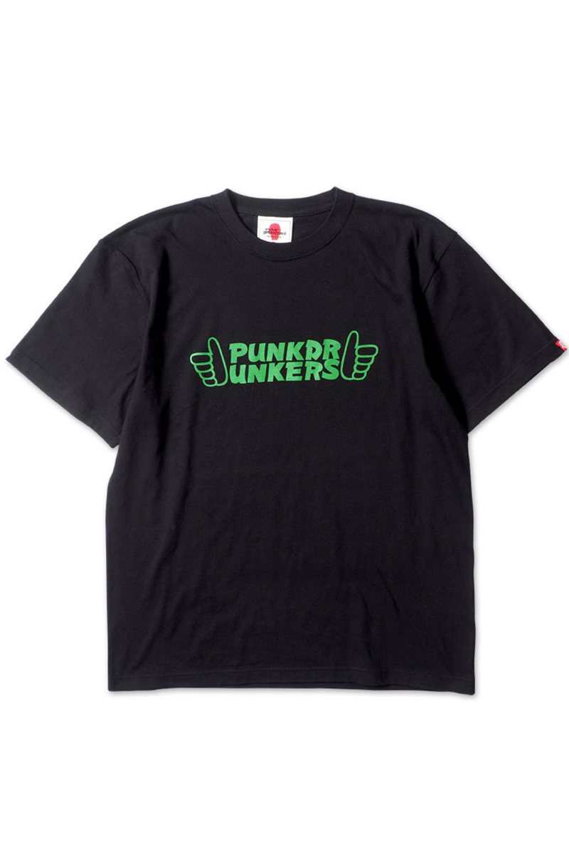PUNK DRUNKERS 89F.TEE BLACK