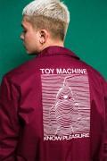 TOY MACHINE TMP18JK19 toymach jk BURGUNDY