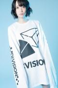"""【予約商品】DI:VISION """"CANDY"""" L/S TEE WHT"""