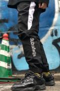 Subciety (サブサエティ) NYLON PANTS BLACK