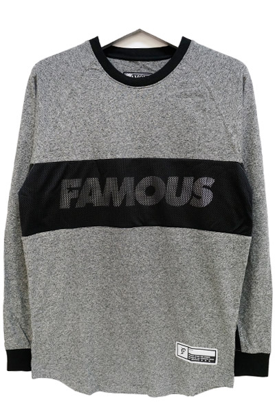 FAMOUS STARS AND STRAPS WHIP LS RAGLAN TOP