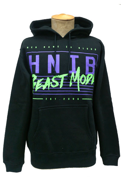 HER NAME IN BLOOD NEON HOODIE