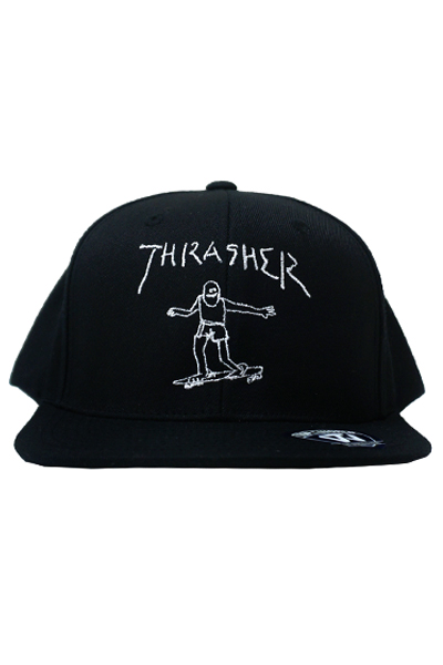 THRASHER SNAP BACK 17TH-C64 BLK