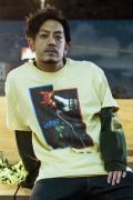 【予約商品】GoneR GR28CT001 Rose Hand T-Shirts Vegas Gold