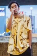 【予約商品】GoneR GR28CT002 Tie-dye Line T-Shirts Vegas Gold