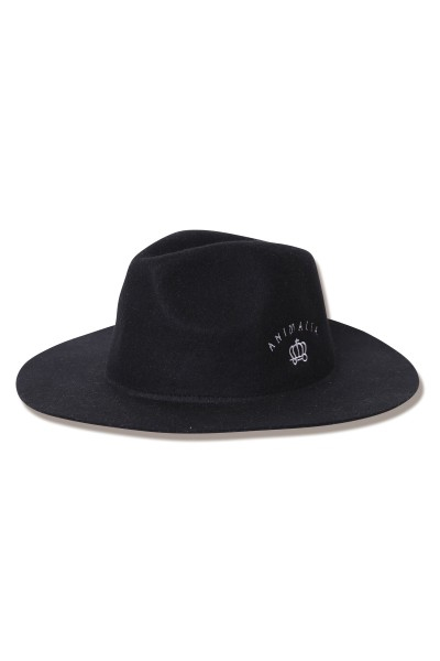 ANIMALIA(アニマリア) AN19S-CP07 ROYAL RUSTIC HAT BLACK