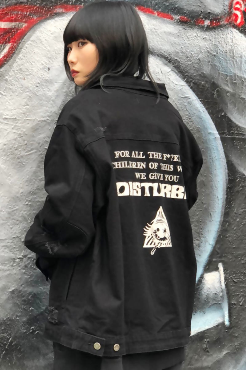 DISTURBIA CLOTHING Disturbia Denim Jacket