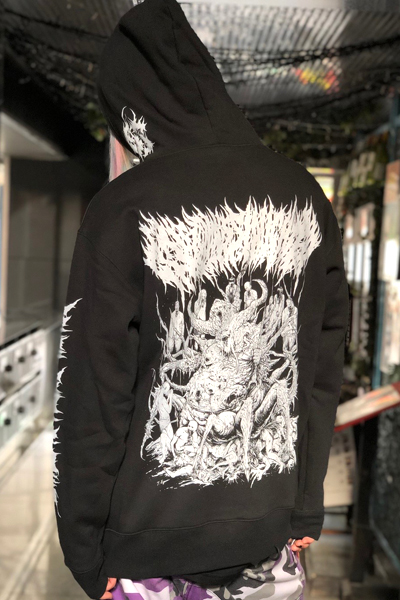 Gluttonous Slaughter (グラトナス・スローター) The Penitent and the Putrid Hoodie