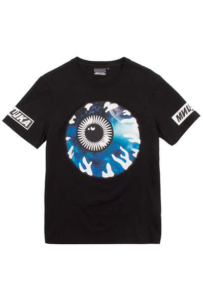 MISHKA (ミシカ) MSS180023 T-Shirt Black