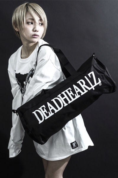 DEADHEARTZ DRUM BACK BLACK