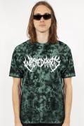 WASTED PARIS T-shirt Marble Dye Nebula Green
