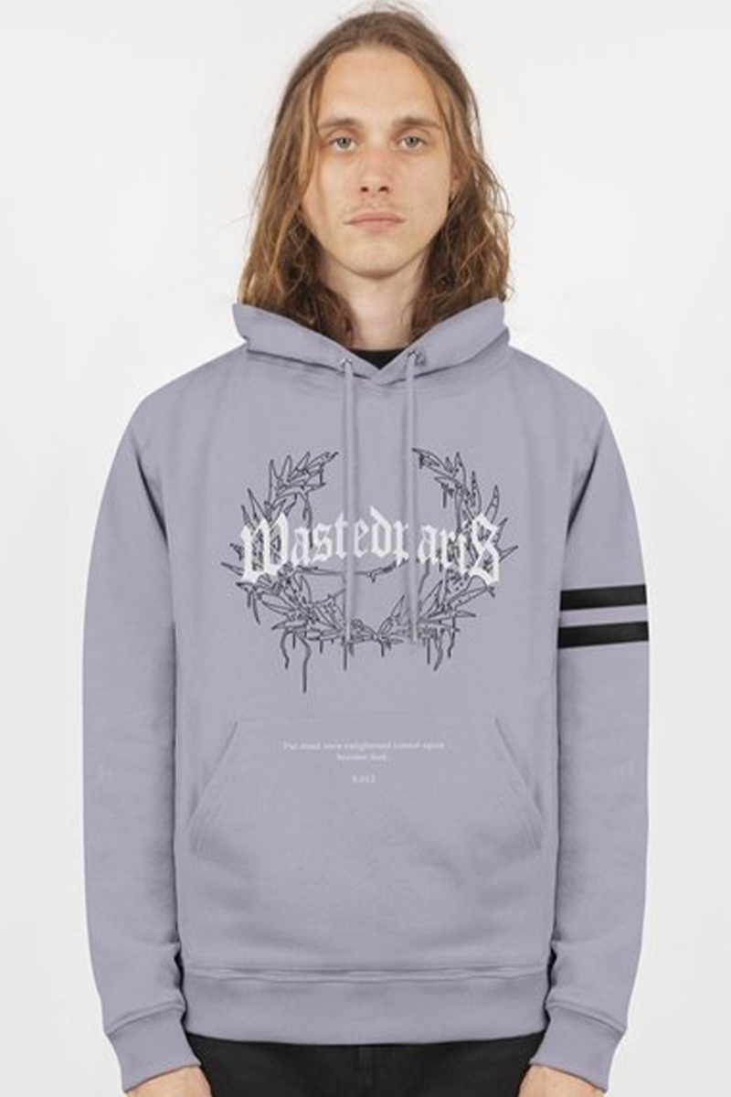 WASTED PARIS Hoodie Columbia Bridge Lilac