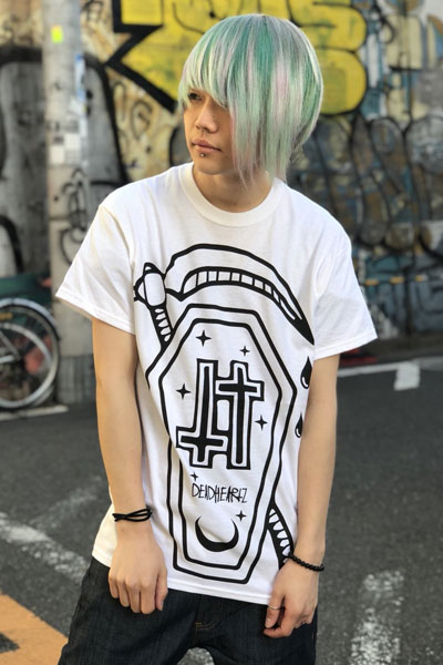 DEADHEARTZ HOME TEES WHITE