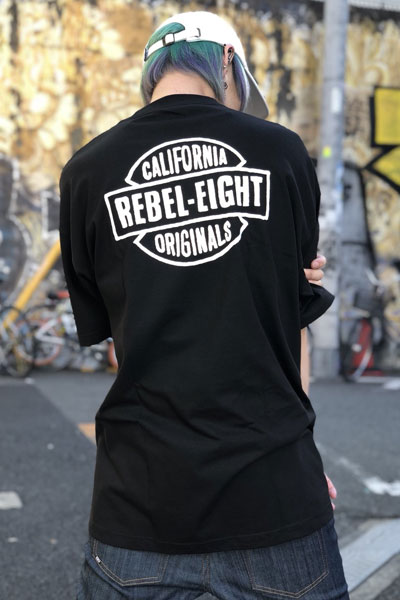 REBEL8 Nomad Tee Black