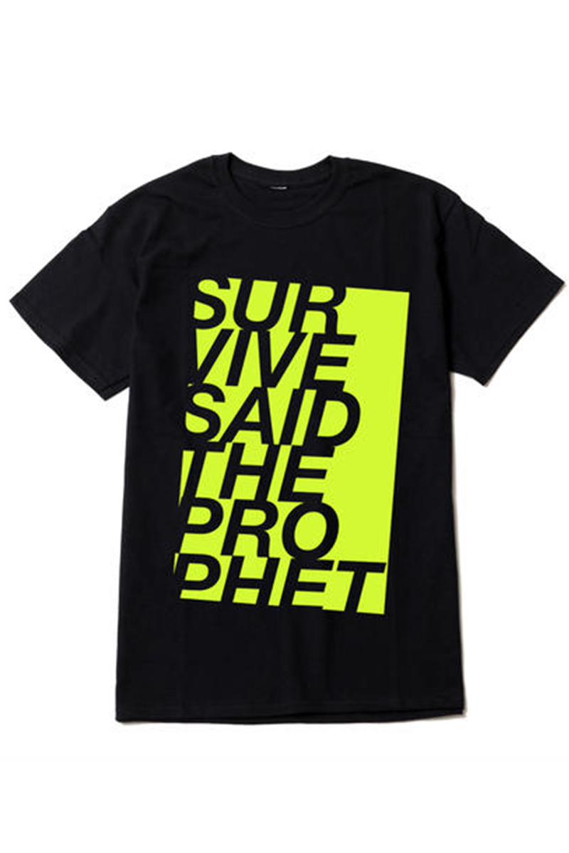 Survive Said The Prophet UNBALANCE TEE YELLOW