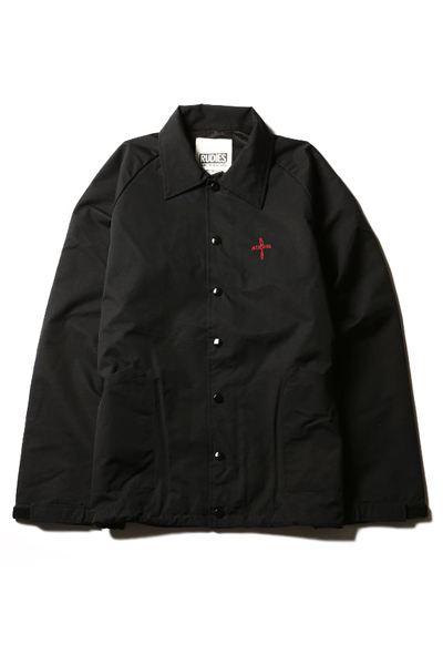 RUDIE'S SAP JKT BLACK/RED