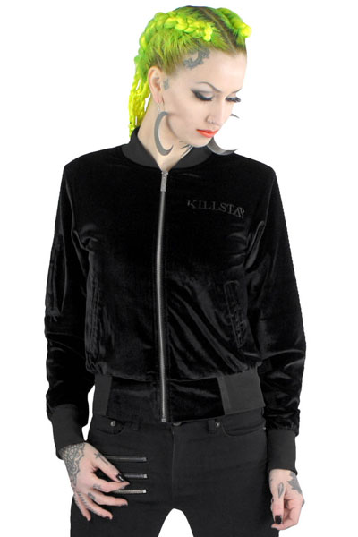 KILL STAR CLOTHING (キルスター・クロージング)  Midnight Bomber Jacket [B]
