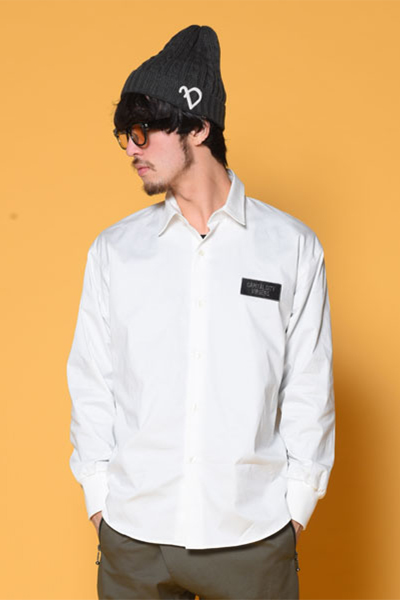 VIRGO VG-SH-198 LOOSE BIG SHIRTS WHITE
