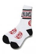 RUDIE'S DRAWING SOCKS WHITE