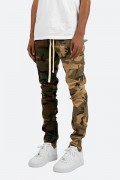 mnml(ミニマル) PANELED CARGO DRAWCORD PANTS Camo